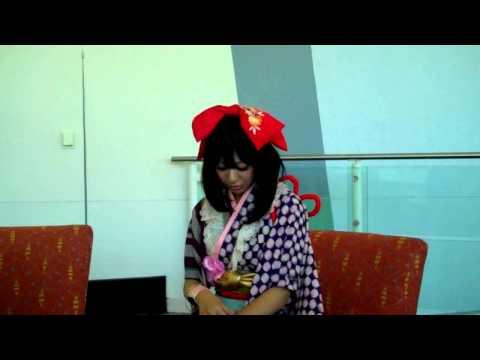 Kanon Wakeshima Interview - AM2 Press Junket