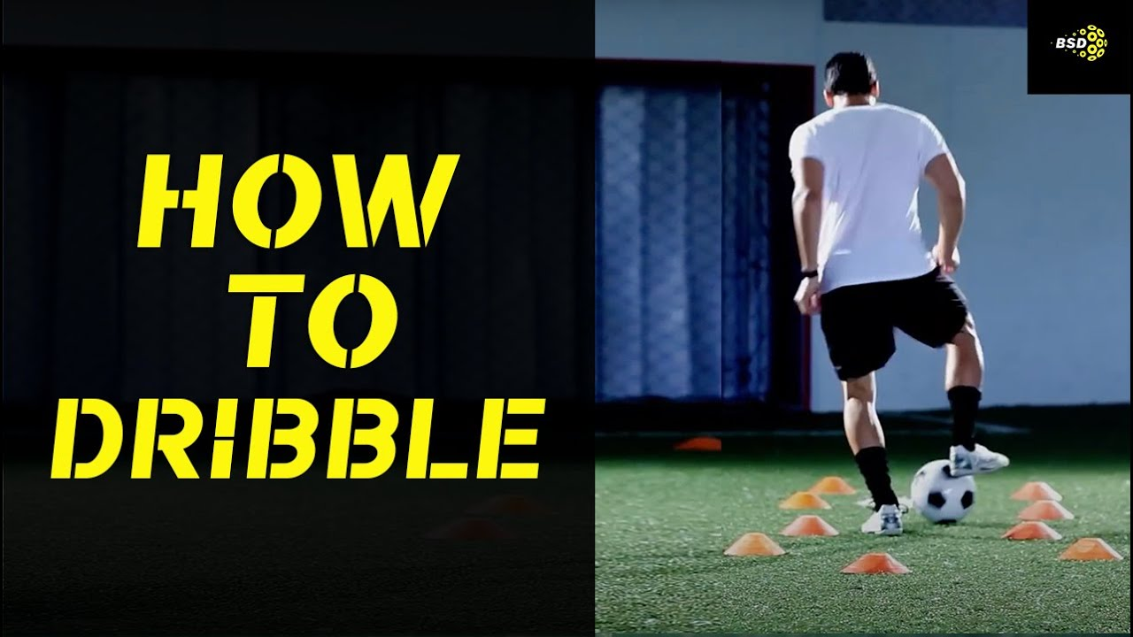 Soccer Drill: Best Soccer Dribbling Drill | How to dribble through ...