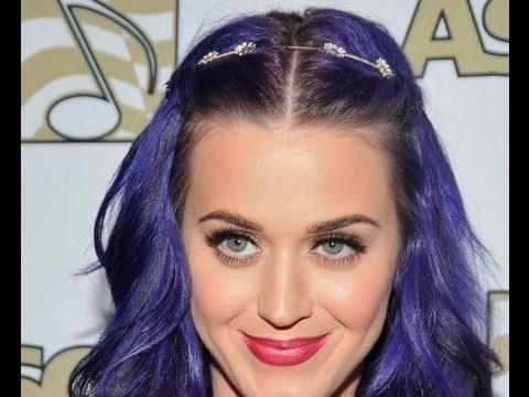 Katy Perry VS Kelly Osbourne: Purple Hair Edition!
