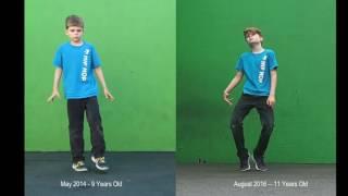 Two Years of Dancing: 700 Hours of Practice! My Progress Video!