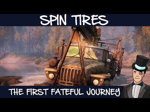 Spin Tires - The First Fateful Journey (Spintires Coast Map)