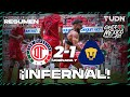 Resumen y goles | Toluca 2-1 Pumas | Grita México BBVA AP2021 - J7 | TUDN