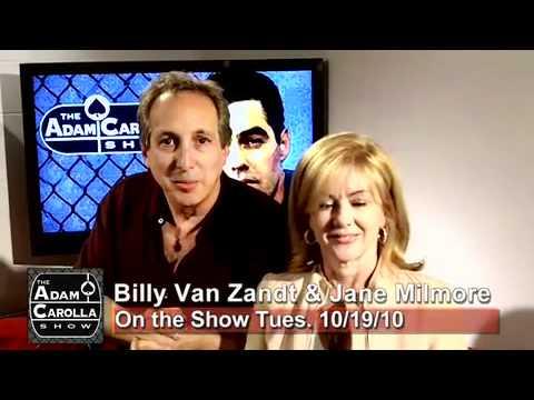 Billy Van Zandt and Jane Milmore on the Adam Carolla  101910