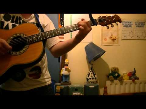 "Mike & The Mechanics: ""Over My Shoulder"" (acoustic guitar cover)"