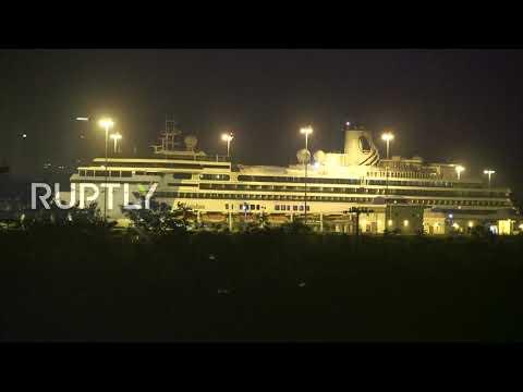 Panama: COVID-19-hit cruise