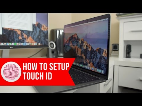 How To Setup Touch ID On Your MacBook Pro