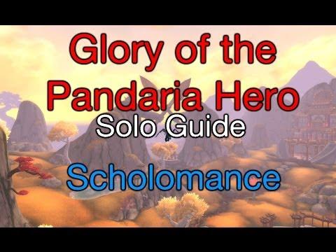 [WoW] How to: solo Glory of the Pandaria Hero ep. 5/9 Scholomance