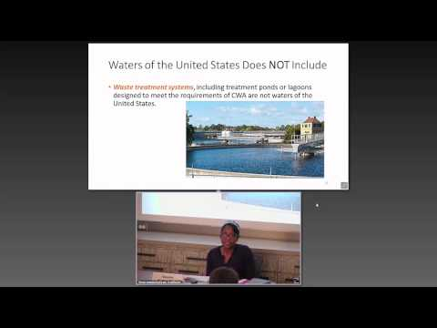 ELI Summer School 2015: Basics of the Clean Water Act