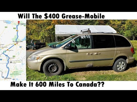 Driving the $400 Craigslist Van 600 Miles To Canada! Will It Make It?