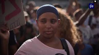 يهود الفلاشا يحتجون ضد التمييز العنصري للاحتلال  - (4-7-2019)