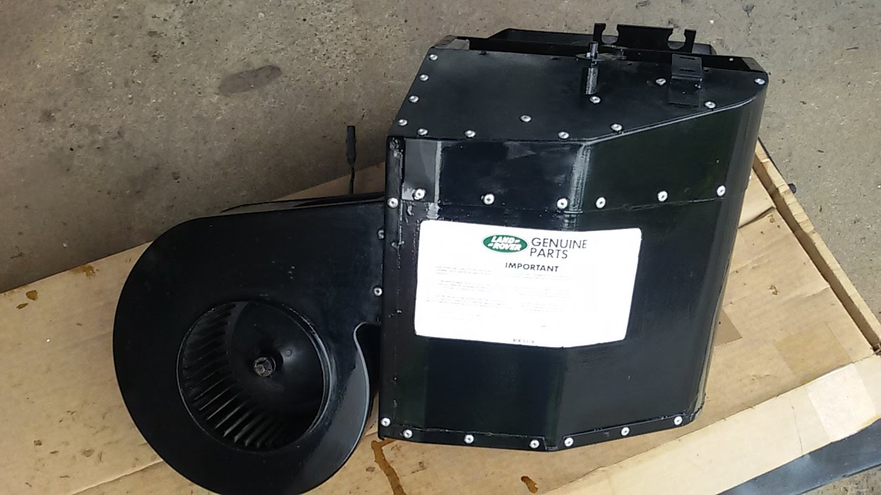 land rover defender heater box
