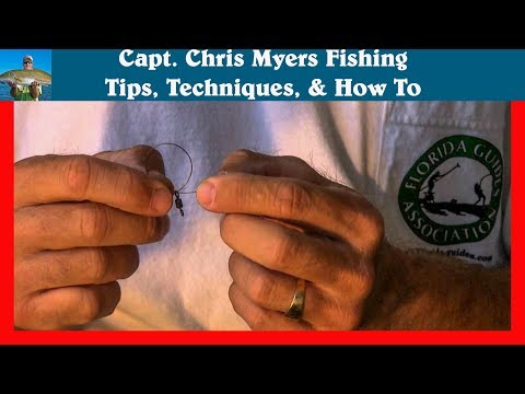 Fishing Knots - Stranded Cable - How to Tie to on a Lure