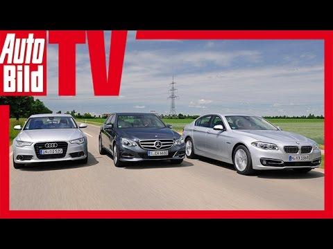 Audi A6 vs. Mercedes E 350 vs. BMW 530d