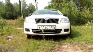 видео Брызговики автомобиля Шкода октавия тур А4