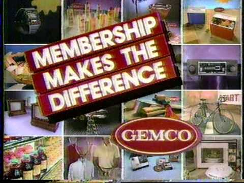 1982 Gemco commercial