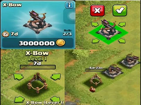 X Bow Clash Of Clans Clash of Clans:...