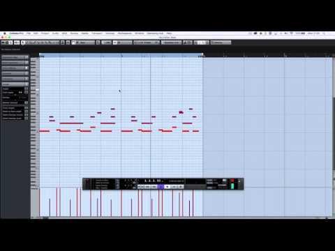 Cubase Pro 8 - Groove Agent SE and Halion Sonic SE Composition Session