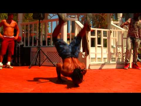 Handstand Pushups- Tiger Bend Push Ups by Calypso Tumblers Raymond Bartlette
