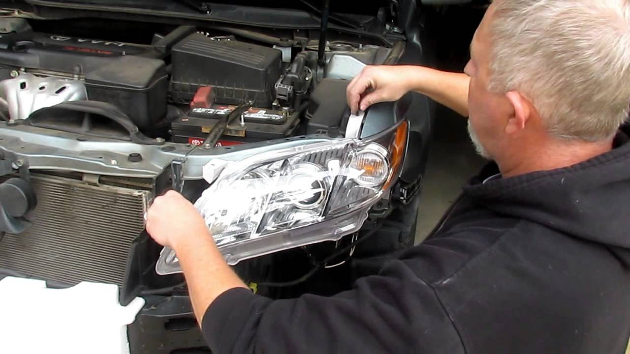 maxresdefault change headlight assemblies on a 2007 2011 toyota camry with 02 Camry at edmiracle.co