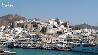 From Mykonos to Paros and Naxos - Cyclades islands, Greece
