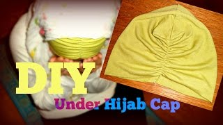 DIY Turban Style Hijab Under Cap | Sewing For Beginners