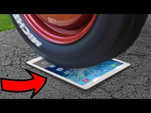 EXPERIMENT: BURNOUT on an iPad 😱