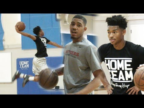 Jaylen Hands Takes OFF During UCLA Runs! Corey Sanders Puts In WORK