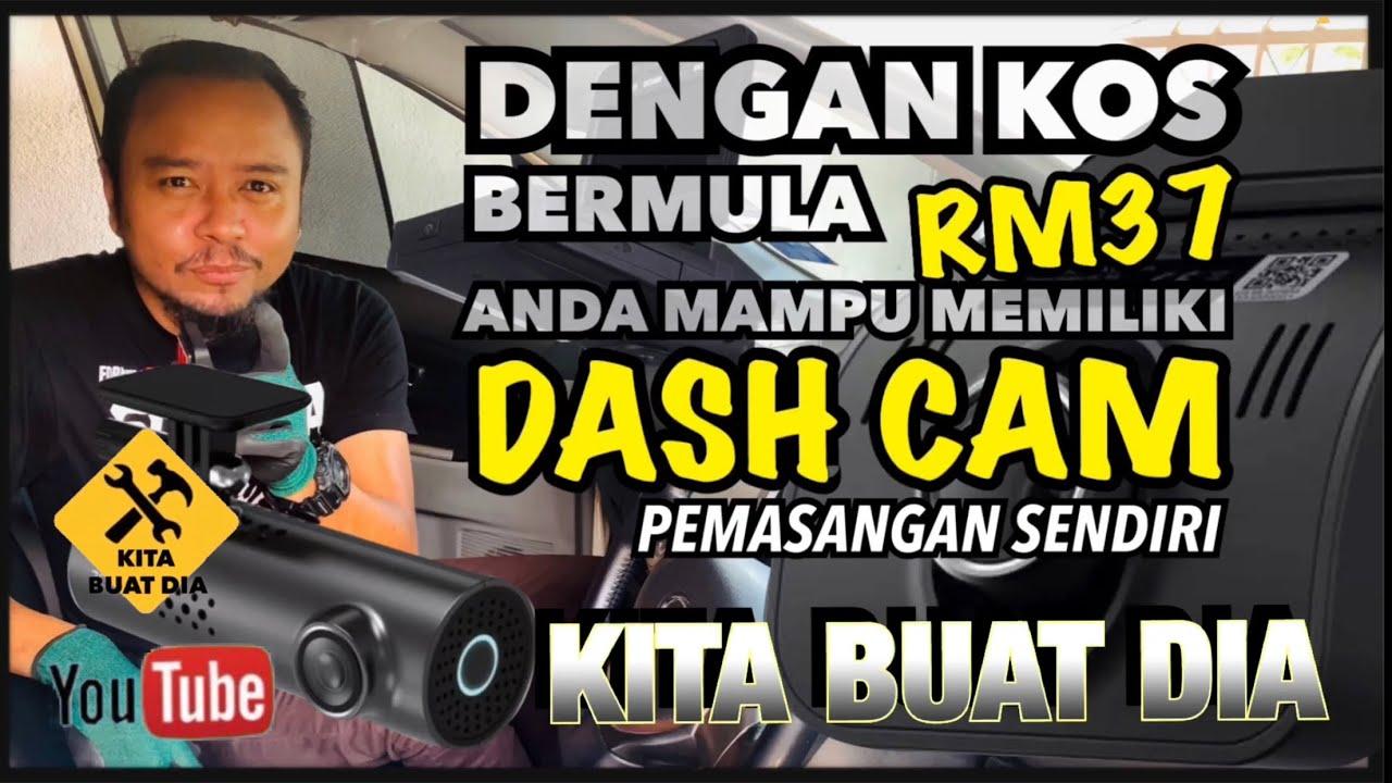 Bermula dengan RM37 | PEMASANGAN DASH CAM & BUKA KOTAK