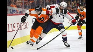 Philadelphia Flyers vs Washington Capitals, 18 march 2018