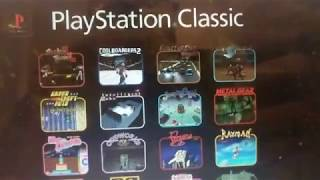 Playstation Classic Games Announced! All 20