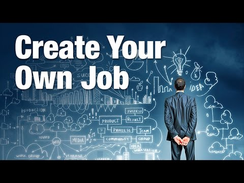Create your own job youtube for Create your own