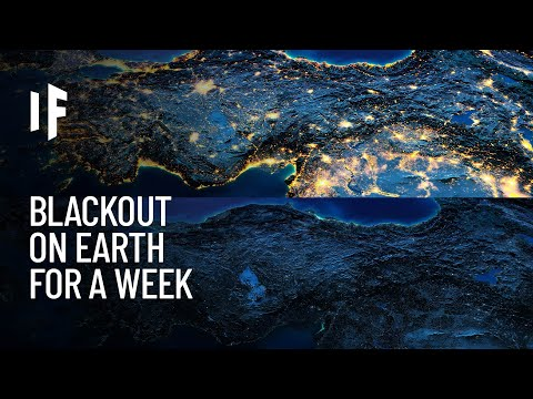 What If Earth Lost Power for 7 Days?
