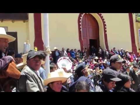 Fiesta por la Virgen del Carmen. Hualgayoc. 2014