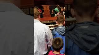 SEAN at the Organ Day at the Kimmel center