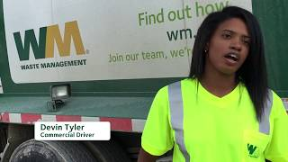 WM Careers: Devin's Truck Driver Story