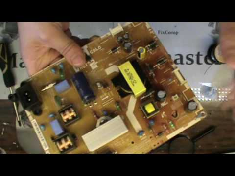 видео: ХР №18 Моргает и выключается led Телевизор samsung  Не ремонт а сказка