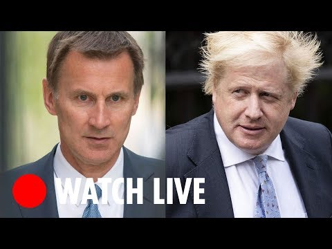 WATCH LIVE - Boris Johnson vs Jeremy Hunt in Conservative leadership hustings in Belfast
