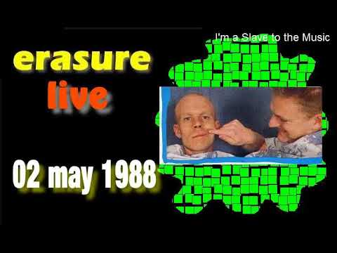 Erasure LIVE, Leisure Centre, Newport Wales UK, 02 may 1988