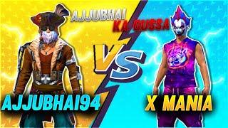 Ajjubhai94 vs X-Mania // Clash Squad 1 V 1