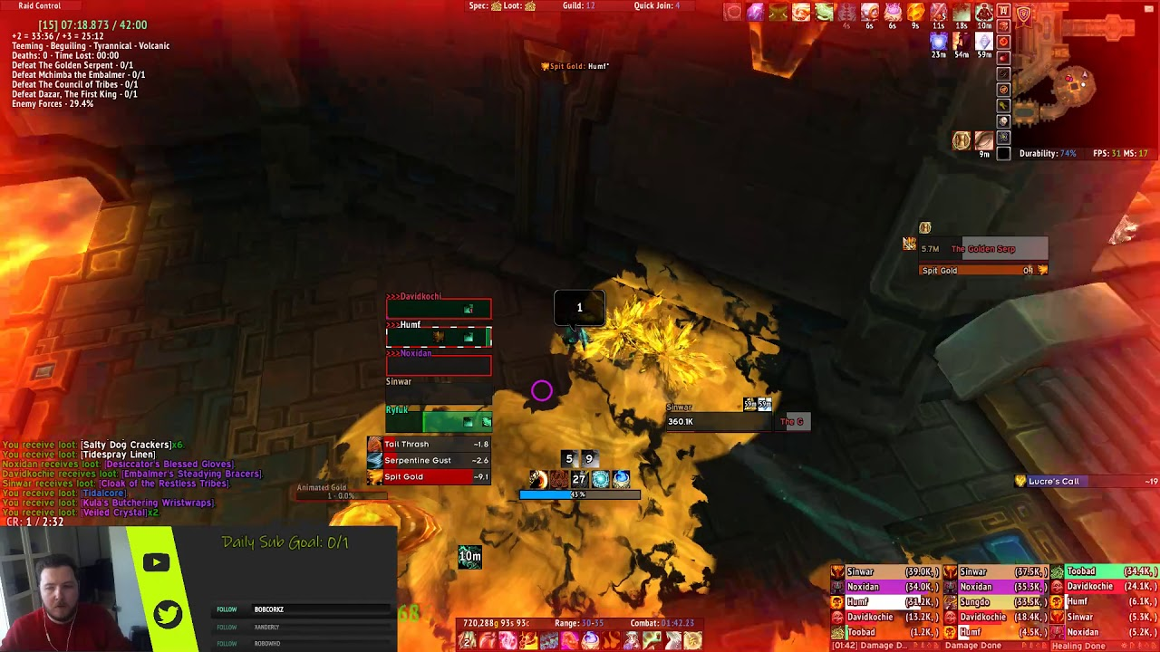 WoW Mythic+ Score :: WoWProgress - World of Warcraft Rankings