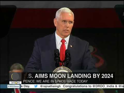 US will lead world in space exploration: Mike Pence