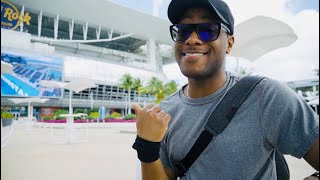 Miami Open 2019 Hard Rock Stadium: ROGER FEDERER WILL BE HERE! (First Impressions)