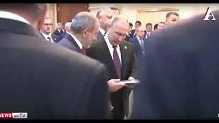 Как Путин унизил премьера Армении в Ашхабаде
