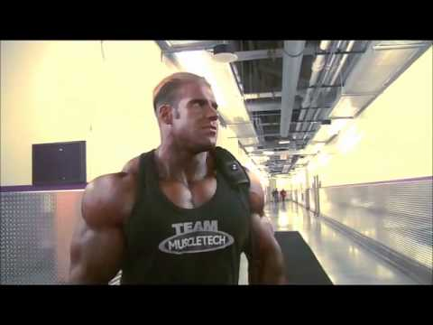 Jay Cutler runs into Ronnie Coleman at 2008 Mr. Olympia