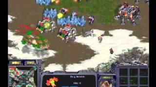 [2002.11.29] 2002 Panasonic배 온게임넷 스타리그 16강 C조 3경기 (아방가르드 II) 김현진(Terran) vs 홍진호(Zerg)