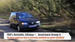Seat Arosa 1.0 MPI Test Drive Video Example