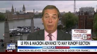 Nigel Farage on the French Election - Le Pen v Macron