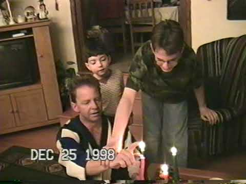 VHS HOME MOVIES: Christmas 1998