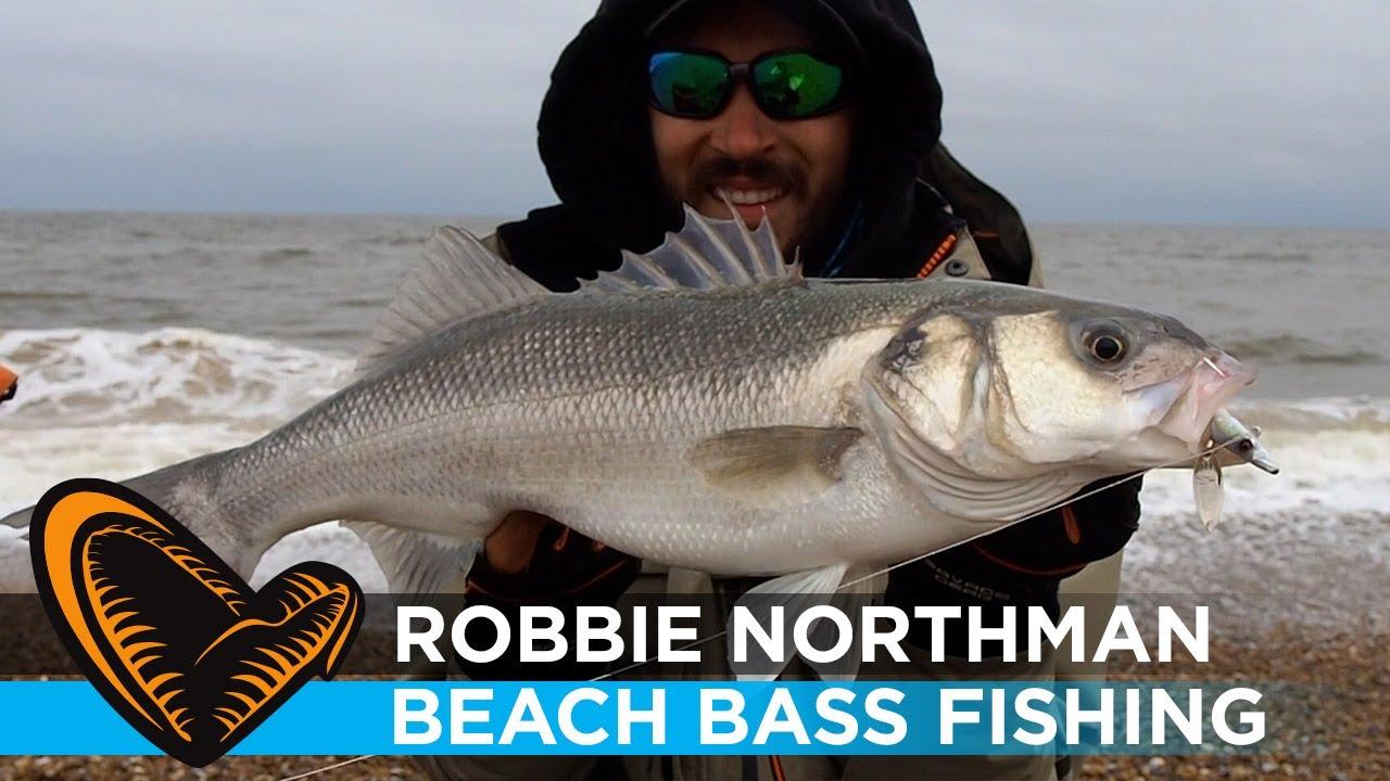 Bass Fishing in the Surf - Robbie Northman - Savage Gear