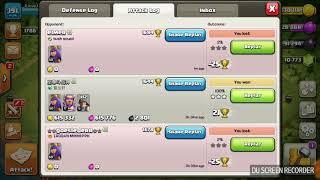 Coc funny base mass loot